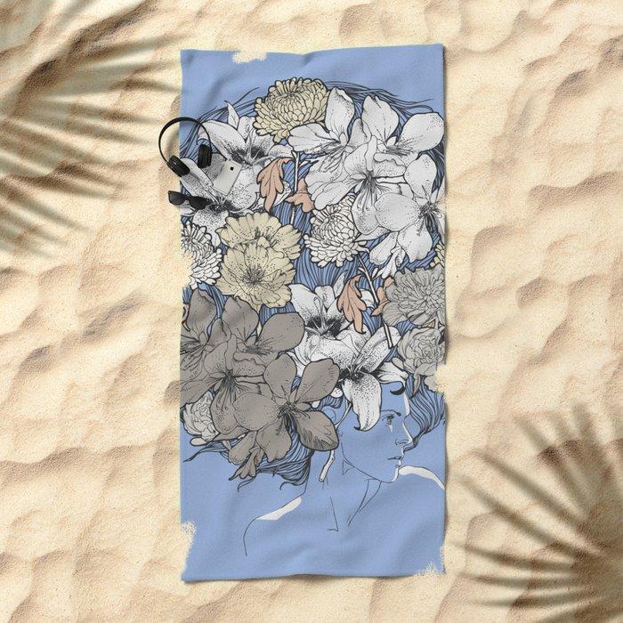 INSIGHT BLOOM Beach Towel