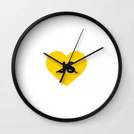 Javascript - js heart Wall Clock