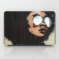 afro iPad Cases featuring Venus Afro by Vin Zzep