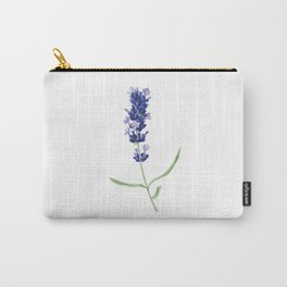 Lavender Flower Carry-All Pouch