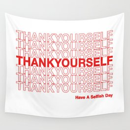 THANKYOURSELF Wall Tapestry