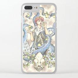 GULA (Gluttony) Clear iPhone Case