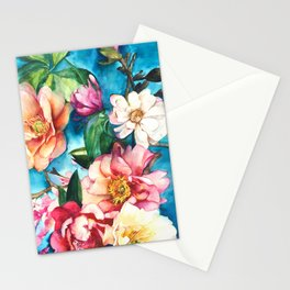 Tropical Floral I Stationery Cards