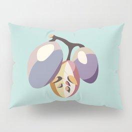 grape fruit illustration Pillow Sham