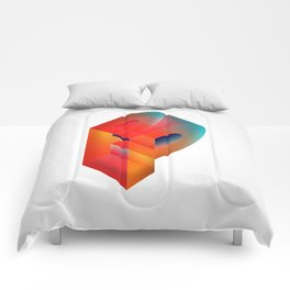 The Letter P Comforters
