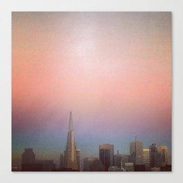 Transamerica Pyramid, San Francisco  Canvas Print