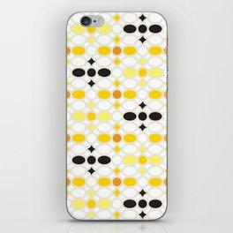 Stone Wall (Cockatoo Yellow) iPhone Skin