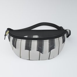 Warped Piano Keys Fanny Pack