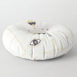 The Spring Moon Floor Pillow
