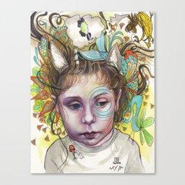Creativity Canvas Print