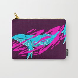 Trippy Whale Carry-All Pouch