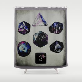DUNGEON DICE Shower Curtain