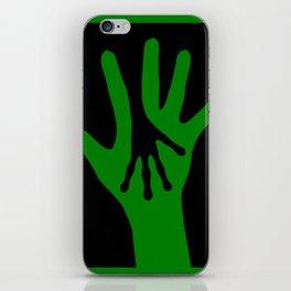 Hand in Hand iPhone Skin