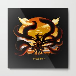 Tailed Beast Unleashed Metal Print