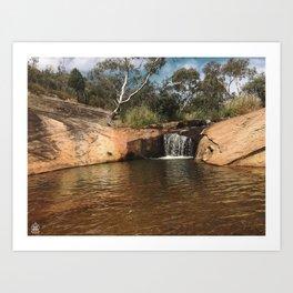 Peaceful Australian Wilderness Art Print