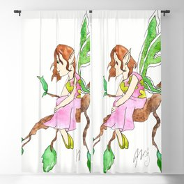 Rosa the Little  Fairy Blackout Curtain