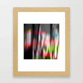veiled colors Framed Art Print