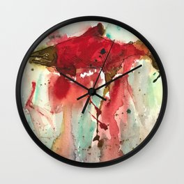 Sockeye Season Wall Clock