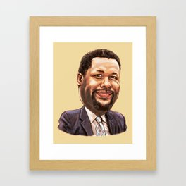 "William ""Bunk"" Moreland Framed Art Print"
