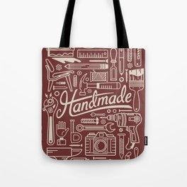 Make Handmade - Red Tote Bag