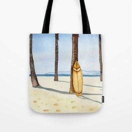Surfing in Paradise Tote Bag