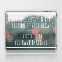 Live the Life You Have Imagined Laptop & iPad Skin