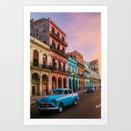 Colorful Havana Art Print