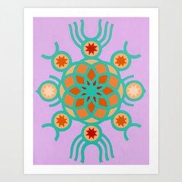 Oko Art Print