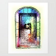 Window, Encinitas, California #2 Art Print