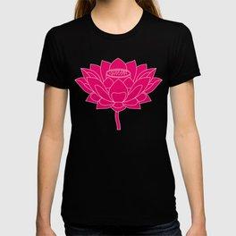 Lotus Holly Flower T-shirt