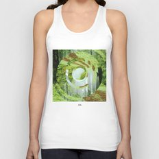 Forest Trips. Unisex Tank Top