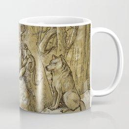Cernunnos (monochrome) Coffee Mug