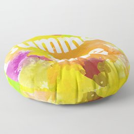 I love summer . Bright colorful design . Floor Pillow