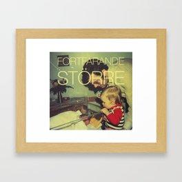 Lille Bro ar 40 Framed Art Print