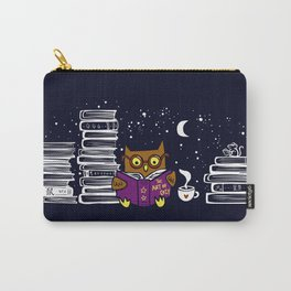 Owl Night Reader Carry-All Pouch