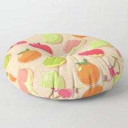 Animal Crossing Fruit Floor Pillow