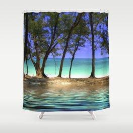 Paradise - Paradise Island, Bahamas Shower Curtain
