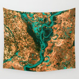 Meandering Mississippi Wall Tapestry