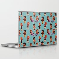 it crowd Laptop & iPad Skins featuring IT Crowd by SIINS