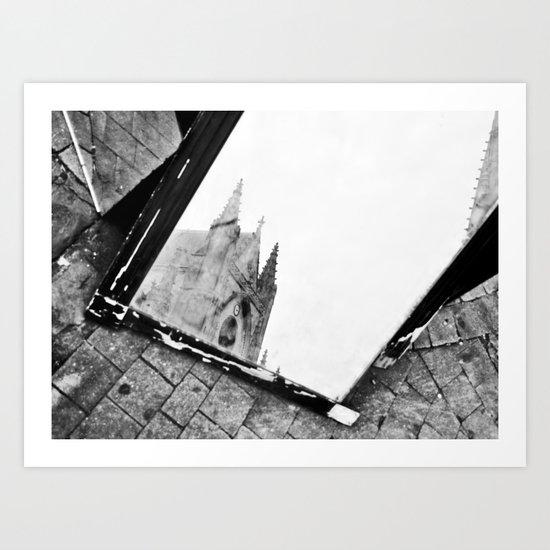 . . . elpmeT Art Print