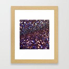 Blue Goldstone Framed Art Print