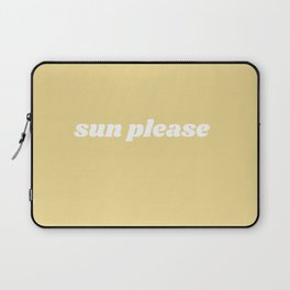sun please Laptop Sleeve