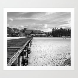 White Tahoe Art Print