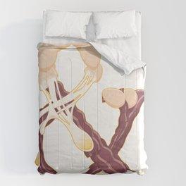 Bacon & Eggs Comforters