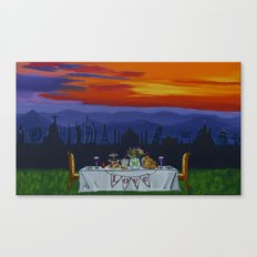 The Love Feast Canvas Print