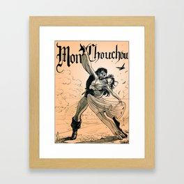 Mon Chouchou Framed Art Print