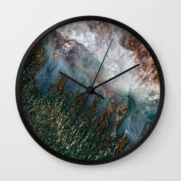 Amethyst Study #1 Wall Clock
