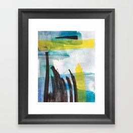 Little Reeds Framed Art Print