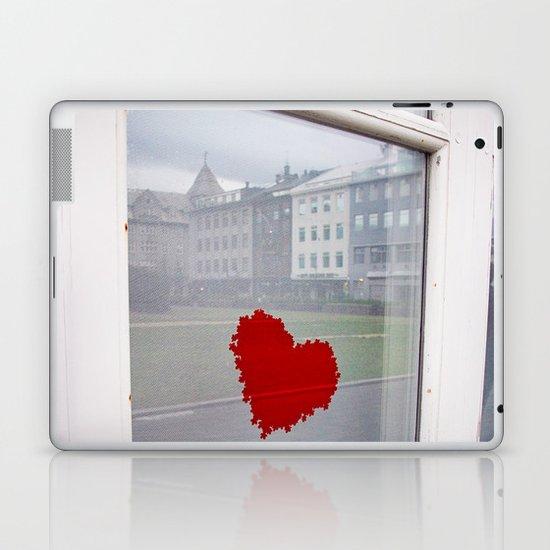 found heart Laptop & iPad Skin