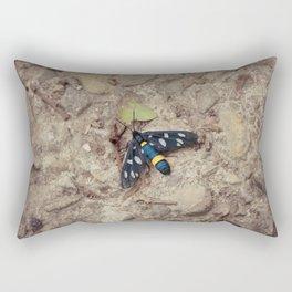 Amata phegea moth Rectangular Pillow